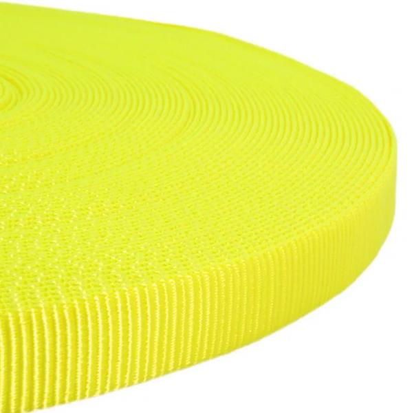 Polypropylen-Gurt - Neon Gelb