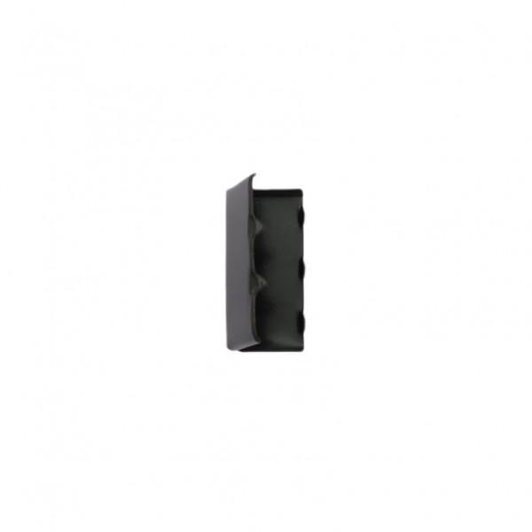 Gurtbandspitze aus Metall - Schwarzes Nickel