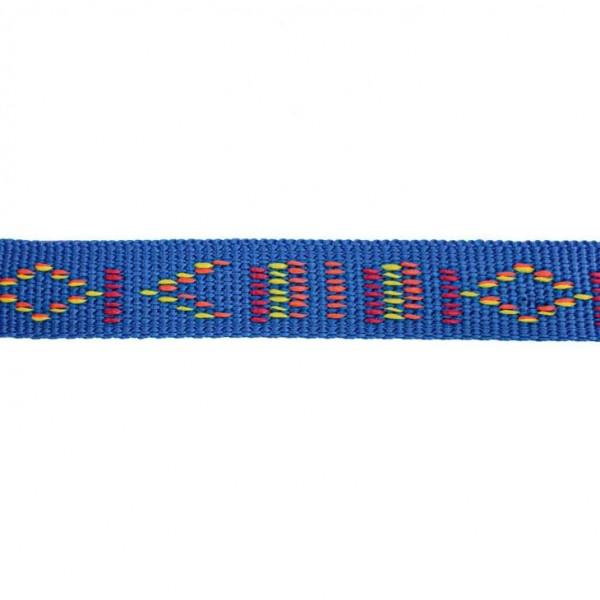 Gurtband mit Motiv - Blau / Indianischen Motiv