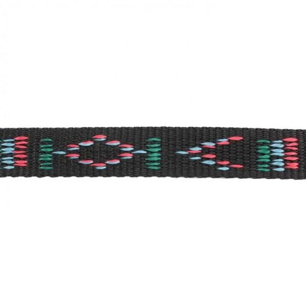 Gurtband mit Motiv - Schwarz / Indianischen Motiv