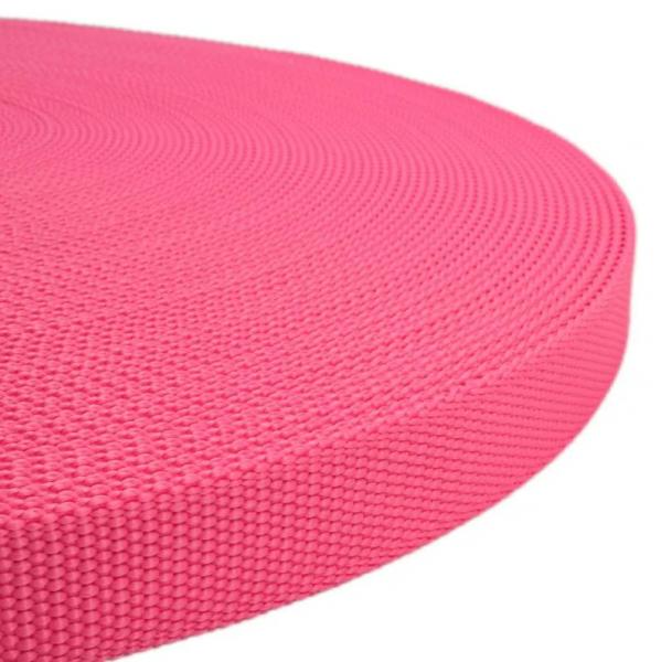 Polypropylen-Gurt - Neon Rosa