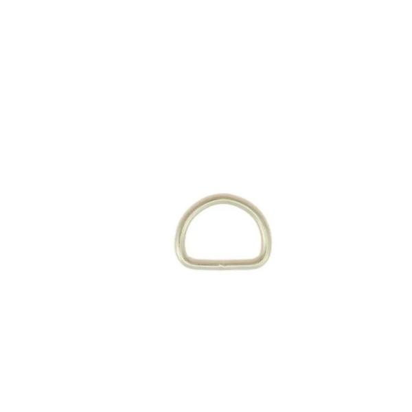 D-Ring - vernickelt