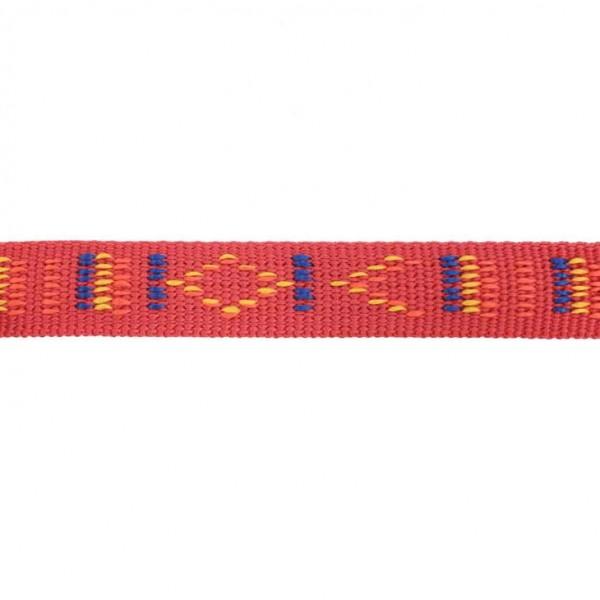 Gurtband mit Motiv - Rot / Indianischen Motiv