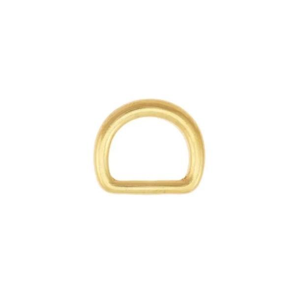 D-Ring - Massiv - Messing