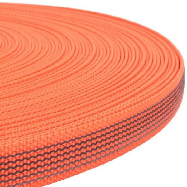 Gurtband mit Gummifäden - Orange