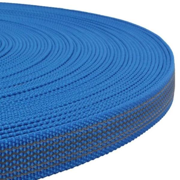 Gurtband mit Gummifäden - Blau